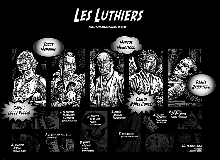 dvd de les luthiers: