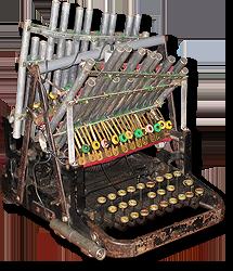 Dactilófono o Máquina de tocar